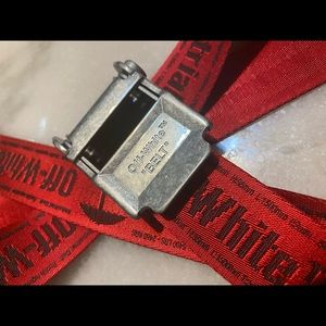 Off white 2.0 Industrial belt